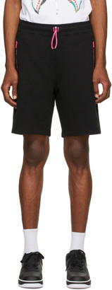 BAPE Black Interlock Shorts