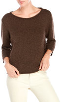 Eileen Fisher Rolled Boatneck Sweater