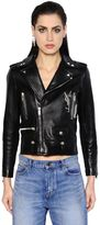 Saint Laurent Embellished Nappa Leather Biker Jacket
