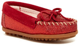Minnetonka Glitter Moccasin (Toddler, Little Kid, & Big Kid)