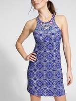 Athleta Millefiori High Neck Swim Dress