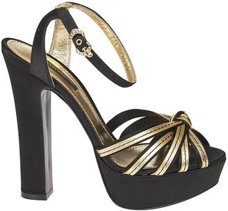 Dolce & Gabbana High Block Heel Sandals