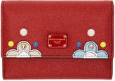 Dolce & Gabbana Red Small Flap Wallet