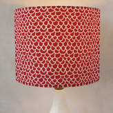 Minted Hand Drawn Scallop Self-Launch Drum Lampshades