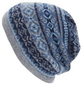 Vineyard Vines Men's Fair Isle Wool Blend Beanie - Blue