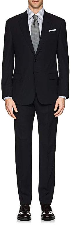 Giorgio Armani Men's Soft Wool Two-Button Suit