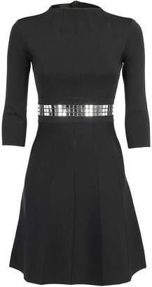 Pinko Mirror Stud Detail Dress