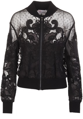 RED Valentino Bomber In Point Desprit Tulle
