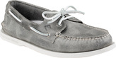 Sperry Men's A/O 2-Eye White Cap Leather Boat Shoe
