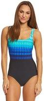 Reebok Women's Trailblazer Stripe One Piece Swimsuit 8151504