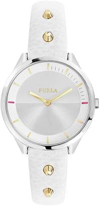 Furla Womens Analogue Quartz Watch with Leather Strap R4251102524