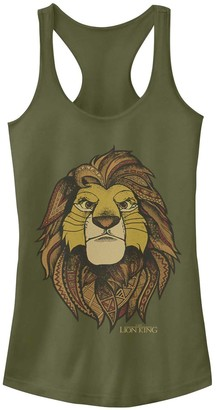 Licensed Character Juniors Lion King Geometric Grown Up Simba Tank