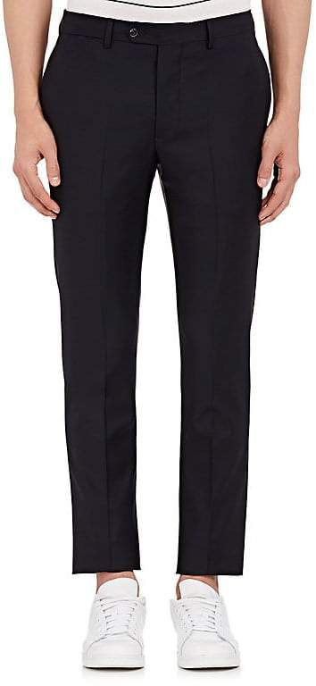 Officine Generale Men's Wool Twill Slim Trousers