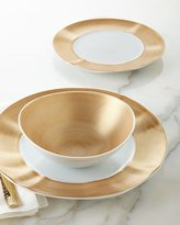 Waterford 12-Piece Gold Brushstroke Dinnerware Service