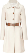 Philosophy di Alberta Ferretti Almond Belted Wool Coat