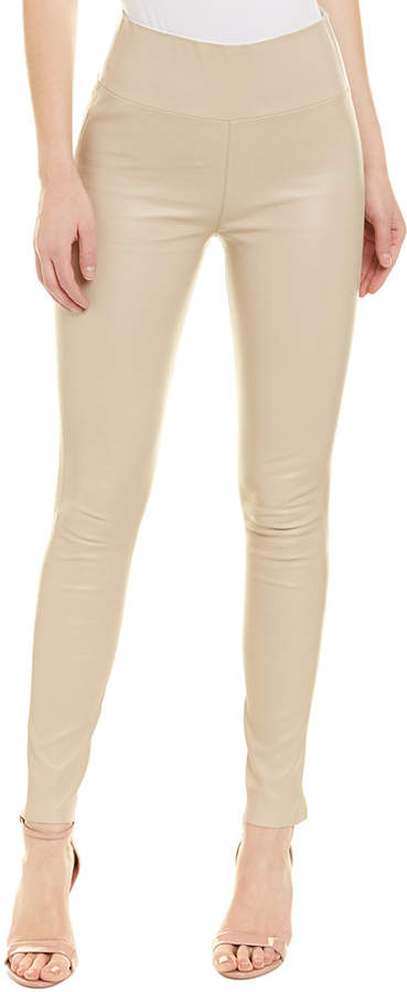 0b1358acd435e5 Leather Ankle Pants - ShopStyle