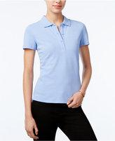 Armani Exchange Short-Sleeve Polo Top