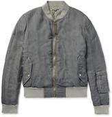 Alexander McQueen Silk Bomber Jacket
