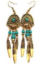 Riah Fashion Bohemian Dangling Earrings