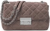 Michael Kors Large Sloan Suede & Chain Shoulder Bag