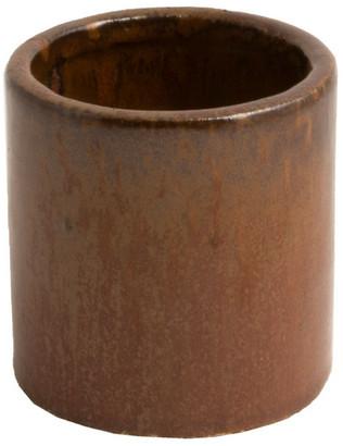 D&M Depot - Ceramic Plant Pot Honest Earth 18cm - ceramic | 18 x 18 x 18 cm | earth - Earth