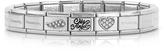 Nomination Classic My Angel Stainless Steel Women's Bracelet w/Cubic Zirconia