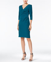 Betsey Johnson Ruched Sheath Dress