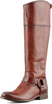 Frye Melissa Harness Extended Calf Riding Boot, Redwood