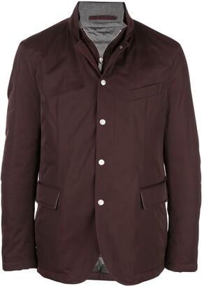 Eleventy layered light jacket
