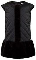 Junior Gaultier Black Quilted Dress
