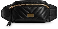 AllSaints Justine Leather Belt Bag