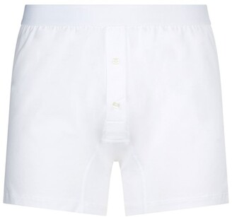 Sunspel Two-Button Boxer Briefs