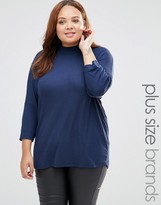 Junarose Ikka Top With High Neck