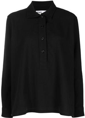 Margaret Howell Long-Sleeved Button-Up Shirt