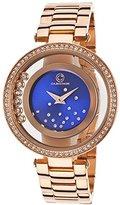 Cabochon Women's 'Joya' Quartz Stainless Steel Casual Watch (Model 80418-RG-03)