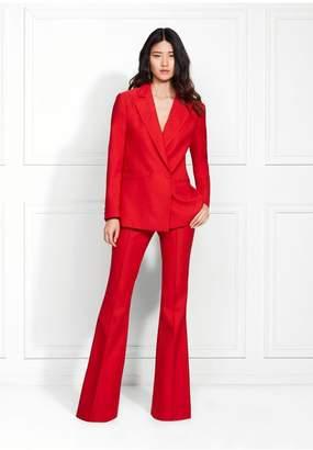 Rachel Zoe Sofia Hopsack Suiting Flare Pants