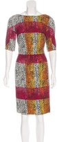 Thakoon Abstract Pattern Knee-Length Dress