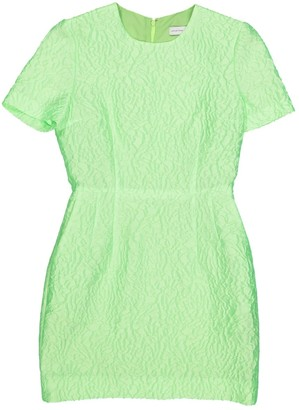 Jonathan Saunders \N Green Silk Dresses