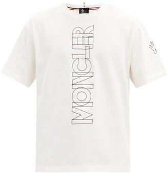 MONCLER GRENOBLE Logo-print Cotton-jersey T-shirt - White