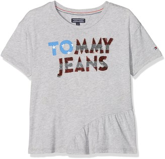 Tommy Hilfiger Girl's Enthusiastic Tee S/s T-Shirt