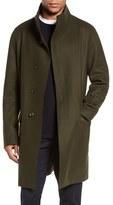 Vince Men's Raw Edge Wool Blend Military Coat