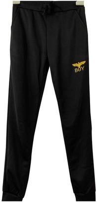 Boy London Black Trousers for Women