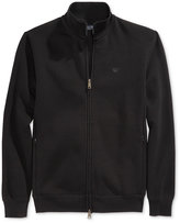 Armani Jeans Men's Two Way Zip Track Jacket with Side Pockets