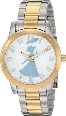 Disney Women's Mary Poppins Analog-Quartz Watch with Stainless-Steel Strap