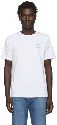 Saturdays NYC White Neon Gotham T-Shirt