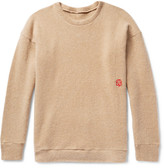 The Elder Statesman Oversized Cashmere Sweater - Sand
