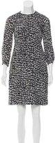 Burberry Abstract Print Knee-Length Dress