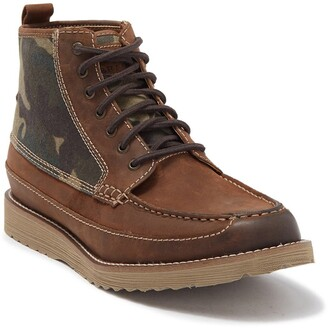 Lucky Brand Sutton Camo Print Boot