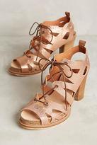 COQUETERRA Sanne Lace-Up Heels