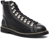 Givenchy Lace Up Leather Boots